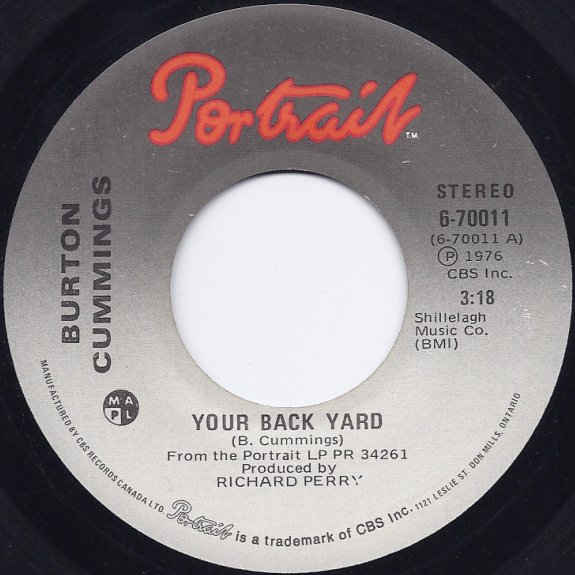 CKSO AM, FM & TV   Record Labels (45 RPM)   Your Back Yard ...